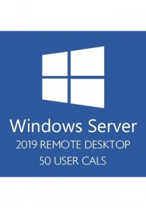 indows Server 2019 Remote Desktop - 50 User CALs