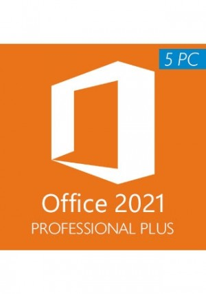 Microsoft Office 2021 Pro Plus / 5 PCs