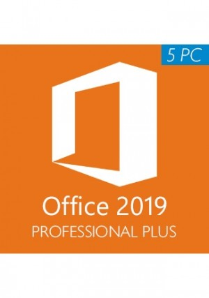 Microsoft Office 2019 Professional Plus CD-KEY (5PC)