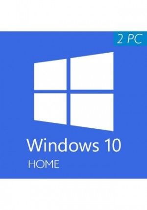 Windows 10 Home CD-KEY (32/64 Bit) (2 PC)