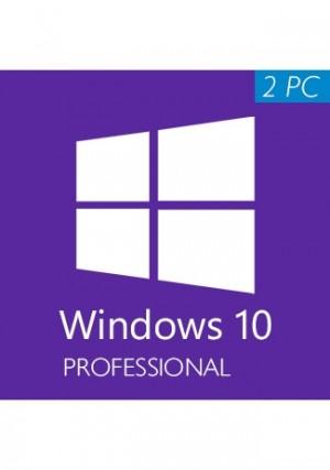 Microsoft Windows 10 Professional CD-KEY (2 PC)