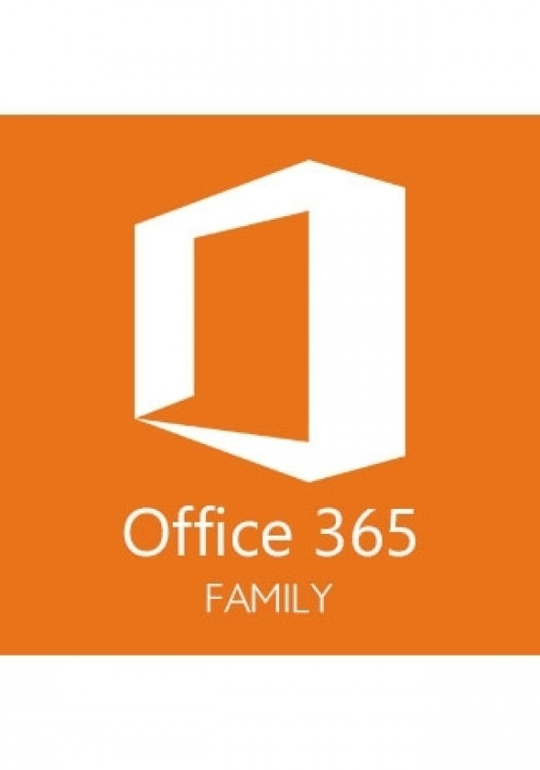 Office 365 Family - 6 Users - 6 Months