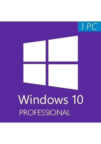 Microsoft Windows 10 Professional (32/64 Bit) 1 PC